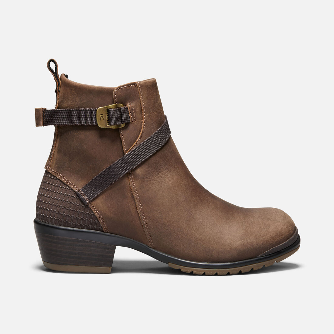 Women's Morrison Leather Mid in Crisp/Mulch - large view.