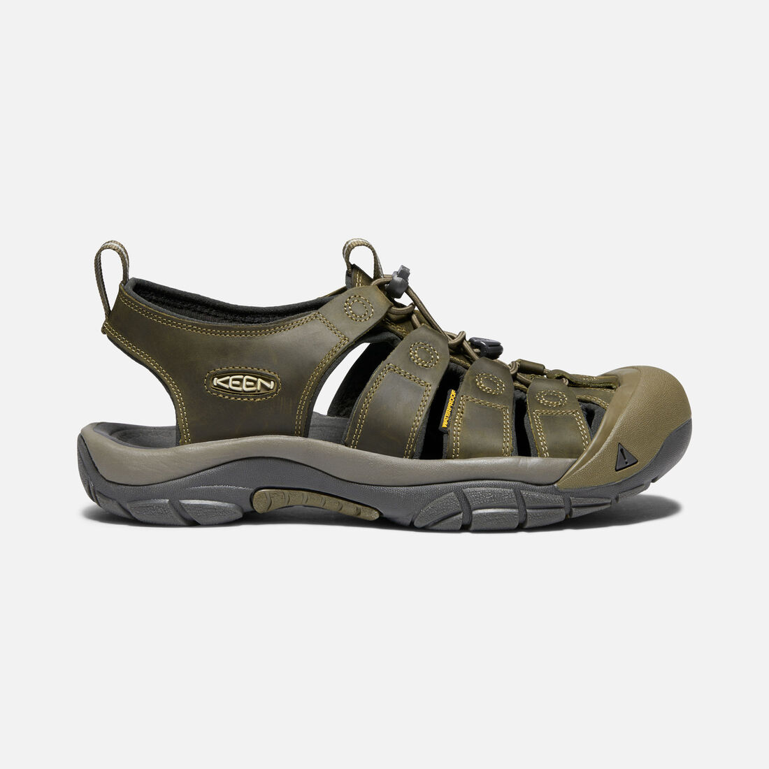MEN'S NEWPORT SANDALS in FAIRWAY/DARK OLIVE - large view.