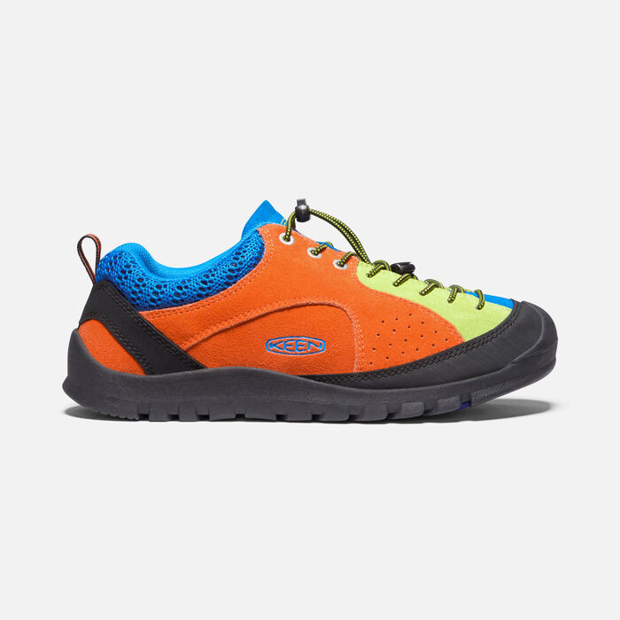 Men's Jasper Rocks SP Trainers in Safety Orange/Brilliant Blue - large view.