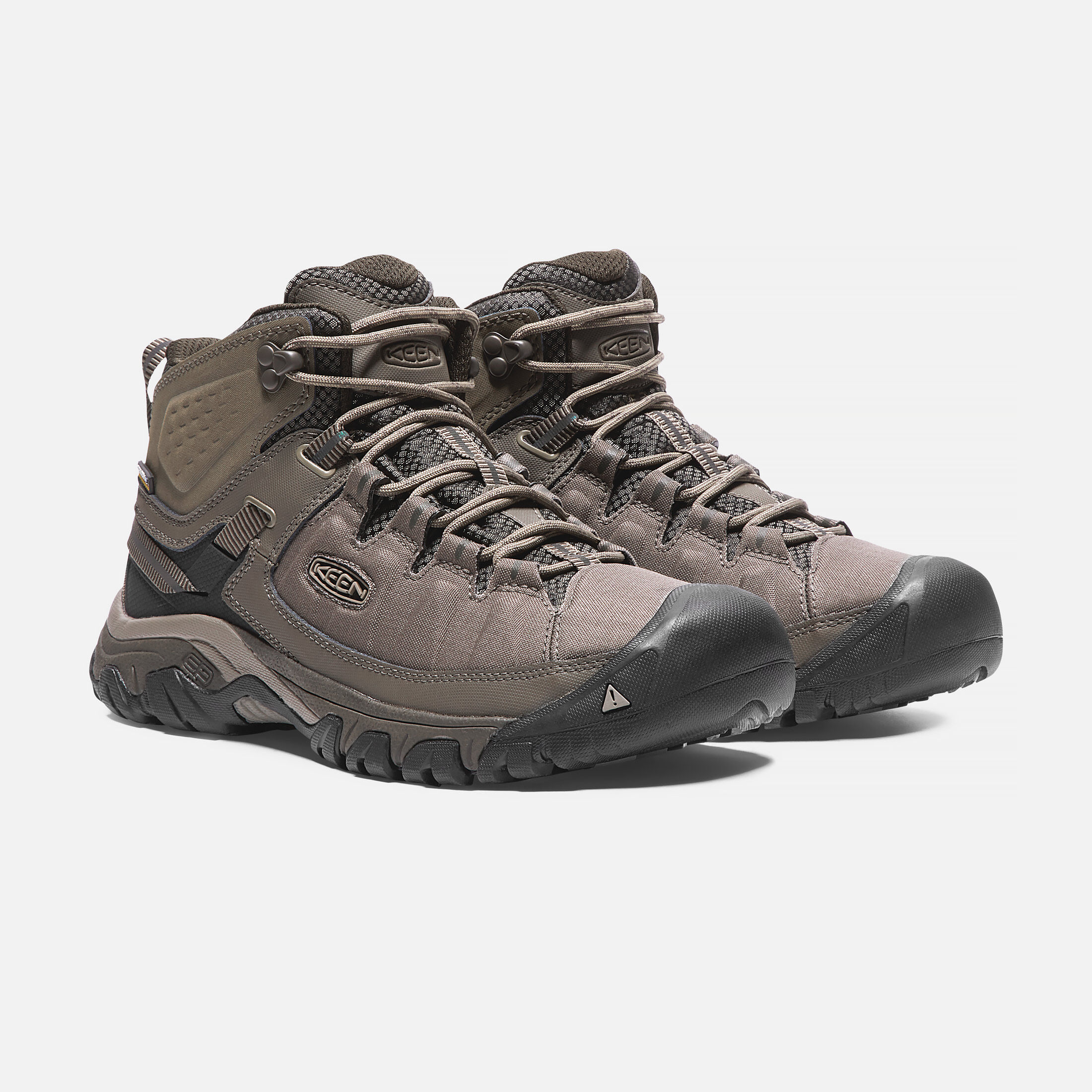 Keen Targhee Explorer Mid Waterproof Boot(Men's) -Black/Steel Grey How Much Sale Online With Credit Card Cheap Online Cheap Price Cost Sale Best Seller Free Shipping Cheapest Price KjVor