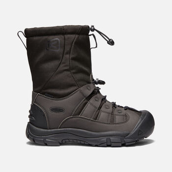 Men's Winterport II in TRUE BLACK - large view.