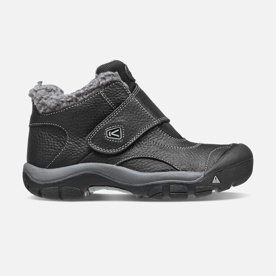 OLDER KIDS' KOOTENAY BOOTS in Black/Neutral Gray - large view.