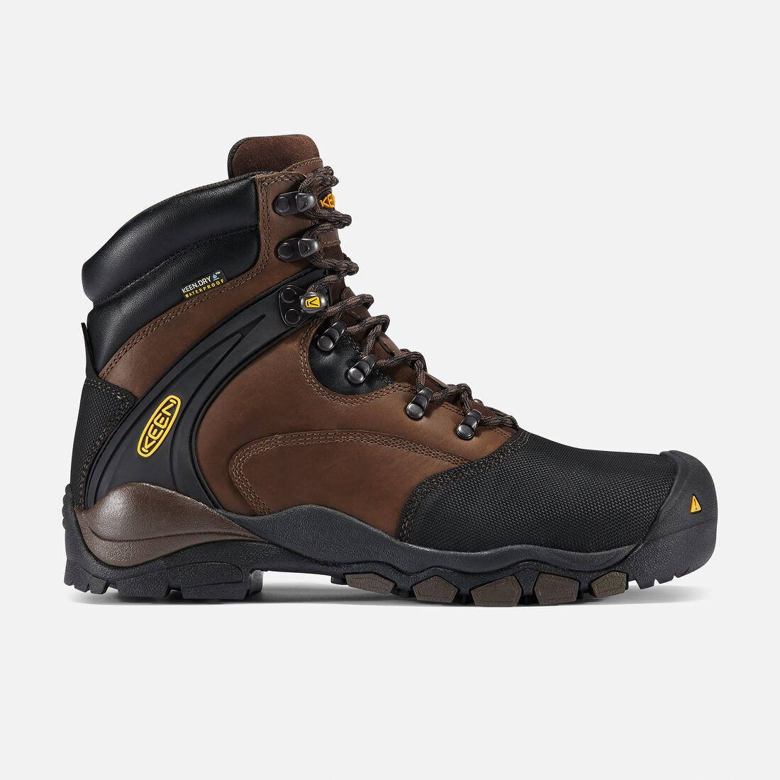 "Men's Louisville 6"" Boot (Steel Toe) in Slate Black - large view."