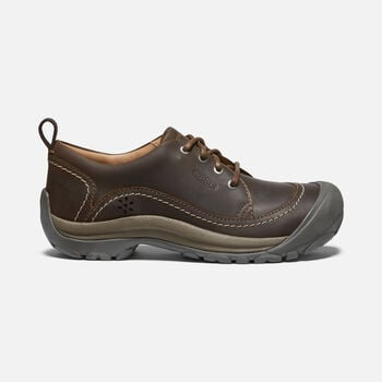 WOMEN'S KACI II OXFORD in DARK EARTH/CANTEEN - large view.