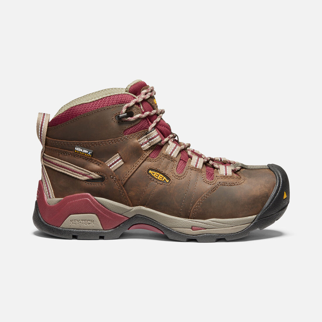 055bd2a859db Women s Detroit XT Waterproof Boot (Steel Toe) in BLACK OLIVE TAWNY RED -