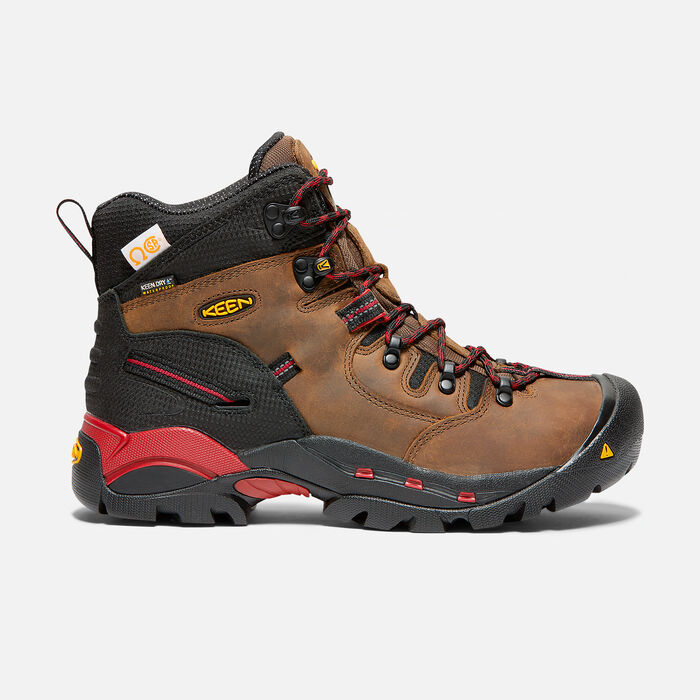 Men's CSA Hamilton Mid (Steel Toe) in Bison - large view.