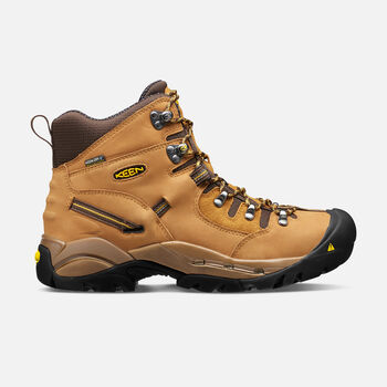 """Men's Pittsburgh 6"""" Boot (Steel Toe) in Wheat - large view."""