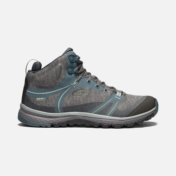 Women's Terradora Waterproof Mid in STORMY WEATHER/WROUGHT IRON - large view.
