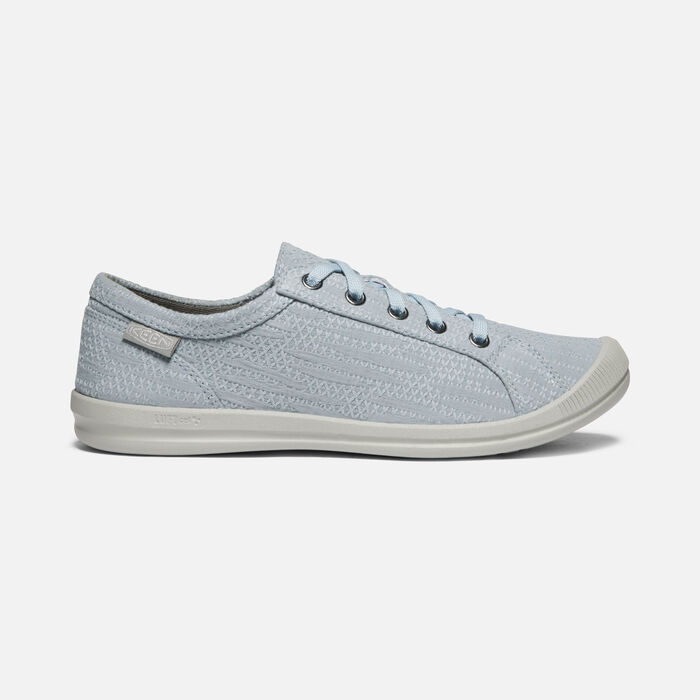 Women's Lorelai Hemp Casual Trainers in Blue - large view.