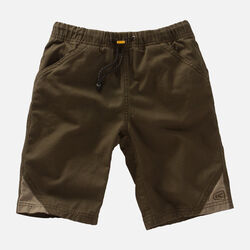 Kids' Slacker Short in Olive Green/Khaki - small view.