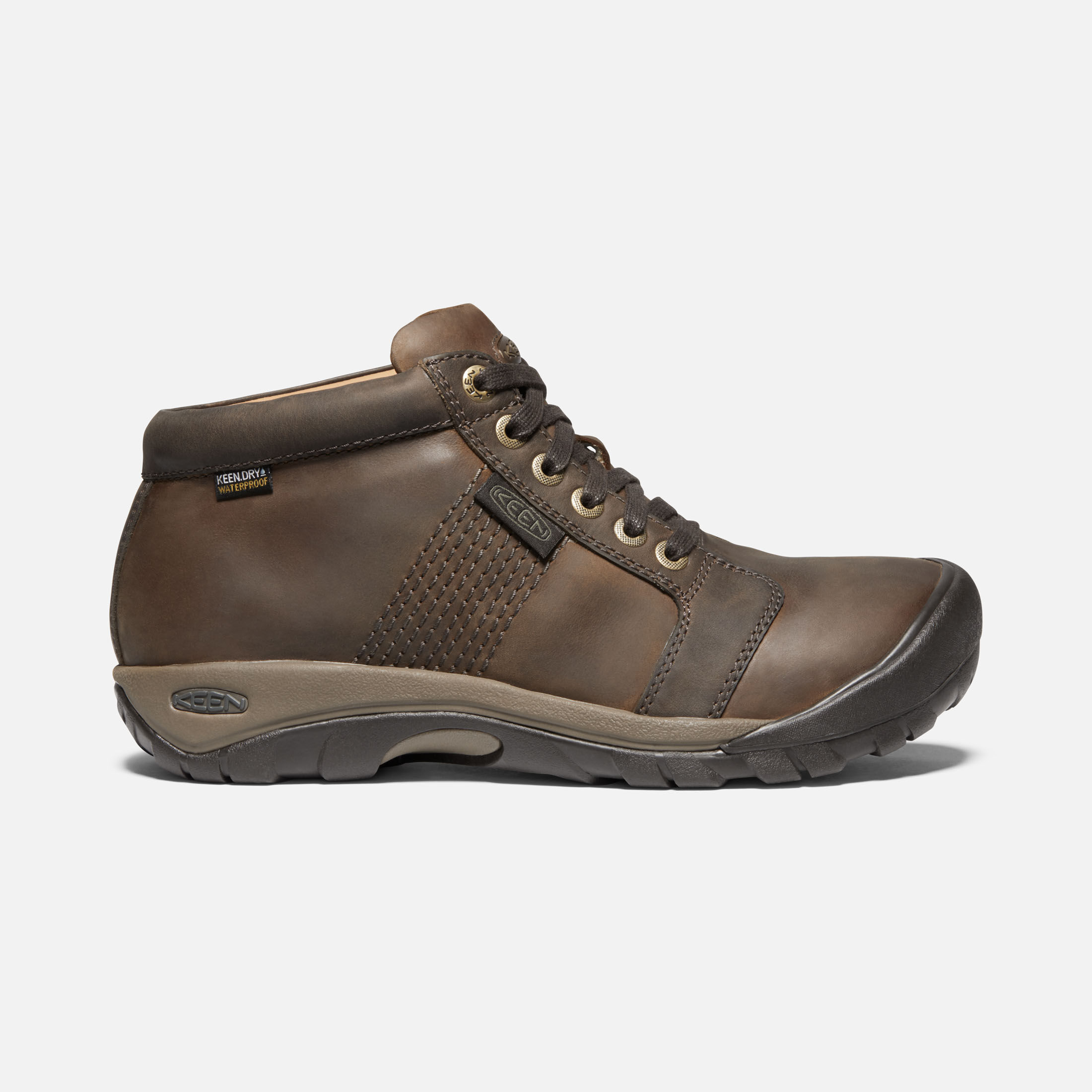 Men's Casual Leather Boots - Austin