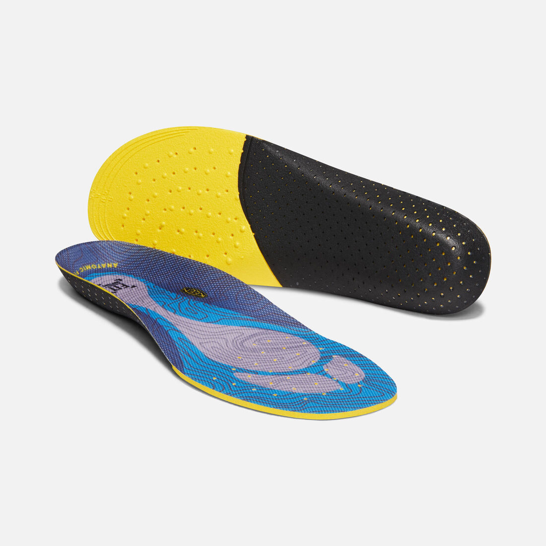 Women's Outdoor K-10 Replacement Insole in OCEAN BLUE - large view.