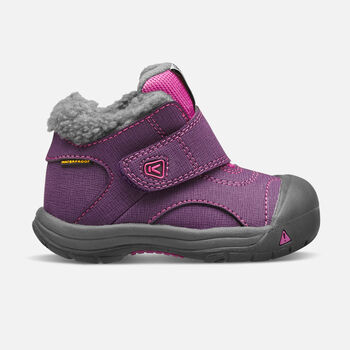 Toddlers' Kootenay Waterproof in Wineberry/Dahlia Mauve - large view.