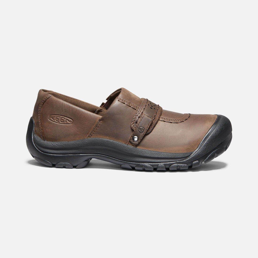 Women's Kaci Full Grain Slip-On in Cascade Brown - large view.