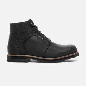 THE ROCKER Waterproof Boot Pour Homme in Black/Black - large view.