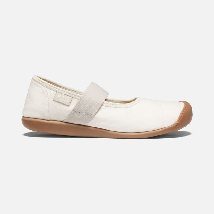 Women's Sienna Canvas Mary Jane in Natural/Birch - large view.