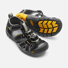 Little Kids' Seacamp II CNX in Black/Yellow - small view.