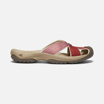 WOMEN'S BALI SANDALS in FIRED BRICK/TULIPWOOD - large view.
