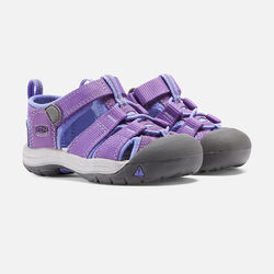 Toddlers' Newport H2 in Purple Heart/Periwinkle - small view.