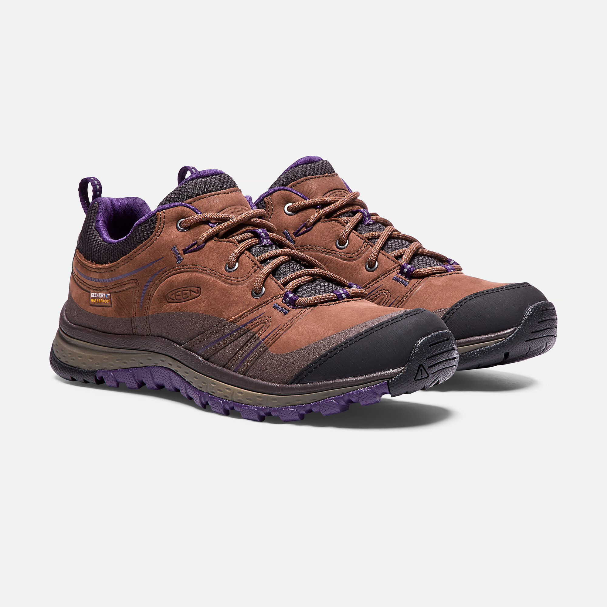2d5ffa5fc WOMEN S TERRADORA LEATHER WATERPROOF HIKING SHOES in Scotch Mulch - small  view.