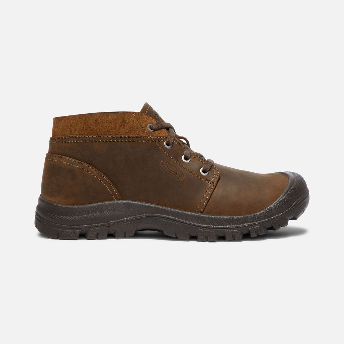 Men's Grayson Chukka in Mid Brown/Scylum Full-Grain - large view.