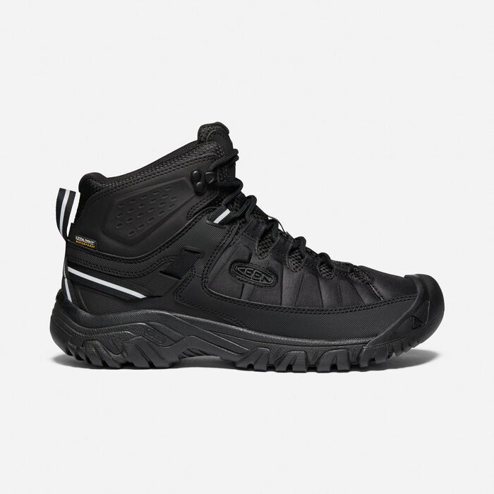 Men's Targhee EXP Waterproof Mid in Black/Black - large view.