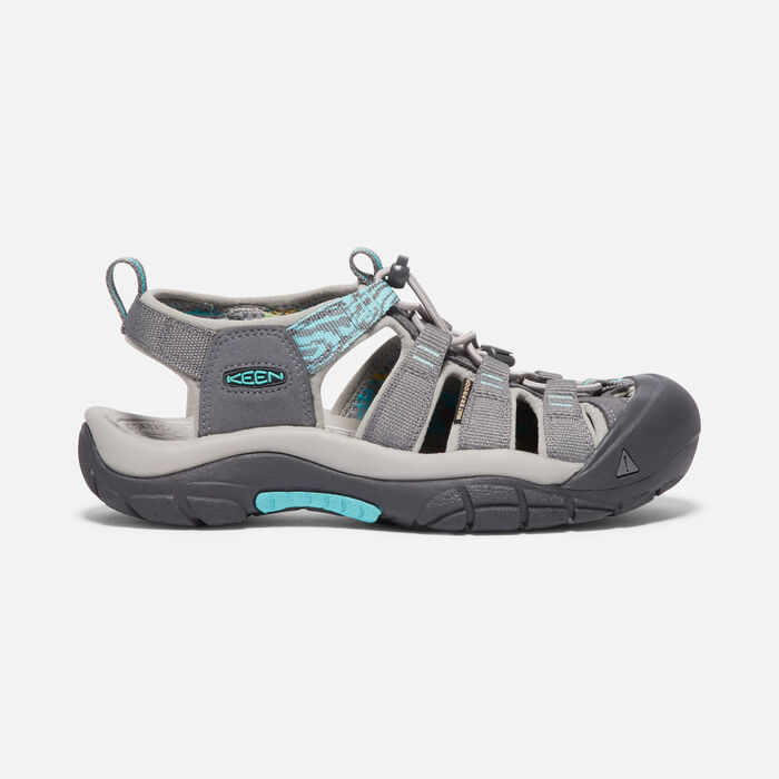Women's Newport Hydro in STEEL GREY/BLUE TURQUOISE - large view.