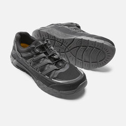 Men's ASHEVILLE AT ESD (Aluminum Toe) in Black/Raven - small view.