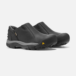 Men's Brixen Waterproof Low in Black/Gargoyle - small view.