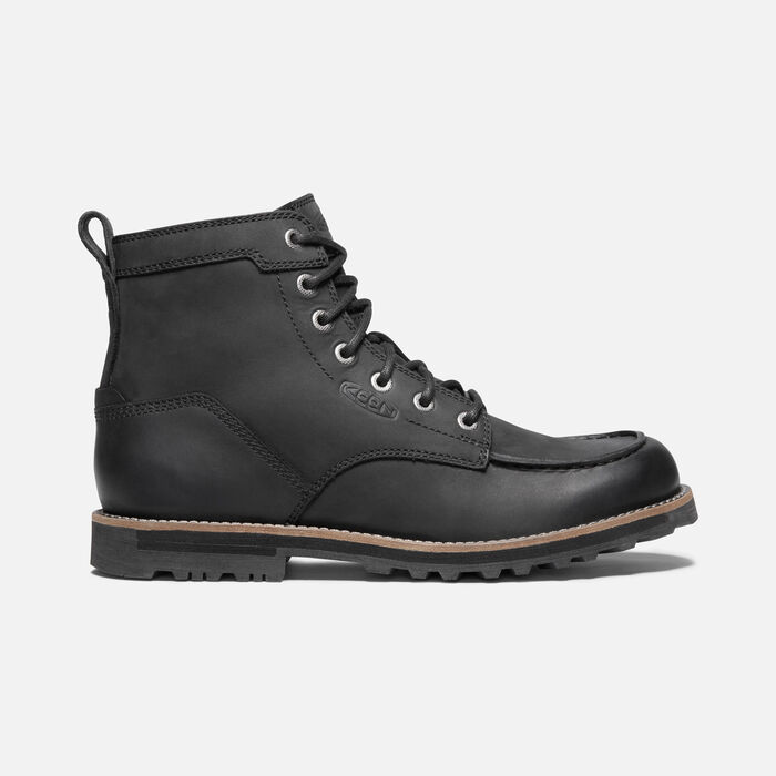 Men's The 59 Moc Casual Boots in Black - large view.