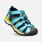 OLDER KIDS' NEWPORT NEO H2 SANDALS in AQUA SEA/LEGION BLUE - small view.