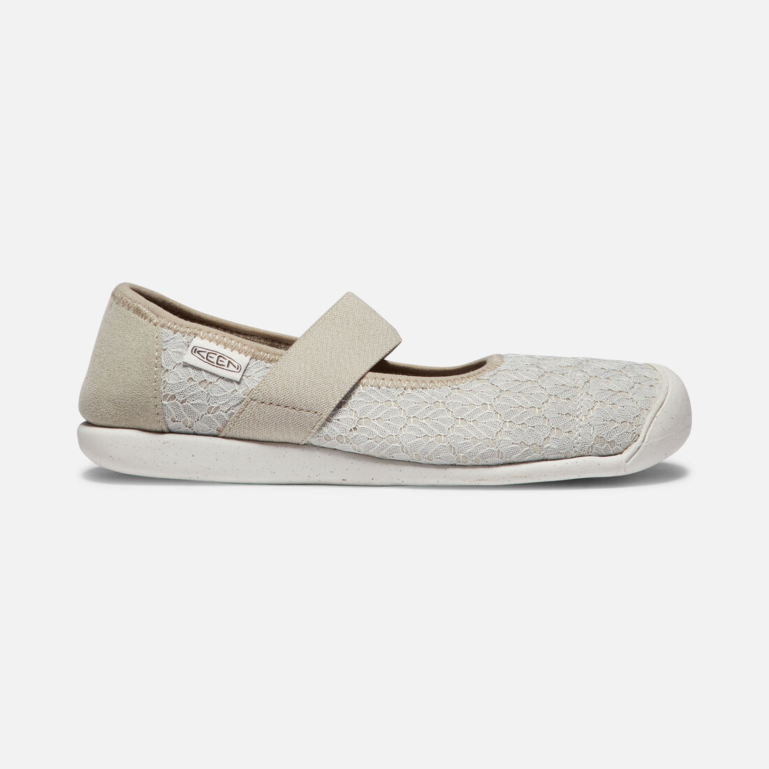 Women's Sienna Canvas Mary Jane in SILVER BIRCH/CANTEEN - large view.