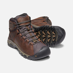 Men's Targhee Lace Waterproof Boot in COCOA/MULCH - small view.