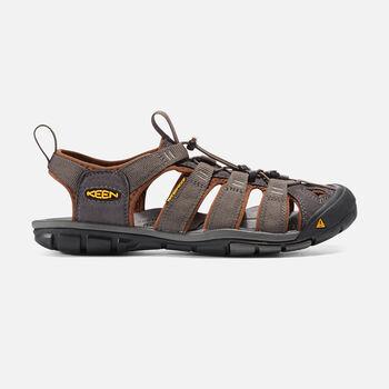 MEN'S CLEARWATER CNX SANDALS in RAVEN/TORTOISE SHELL - large view.