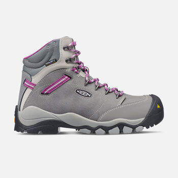 CSA Canby Waterproof (Aluminum Toe) pour femme in Gargoyle/Vapor - large view.