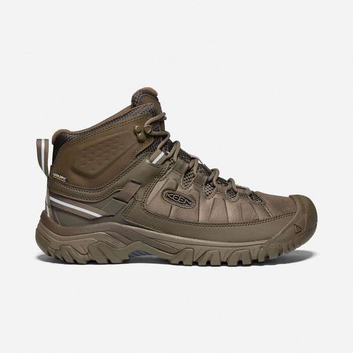 Men's Targhee EXP Waterproof Mid in Canteen/Canteen - large view.