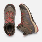 Women's Terradora Waterproof Mid Hiking Boots in CANTEEN/MARSALA - small view.
