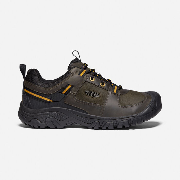 Men's Targhee III Casual Shoe in Black Olive/Harvest Gold - large view.