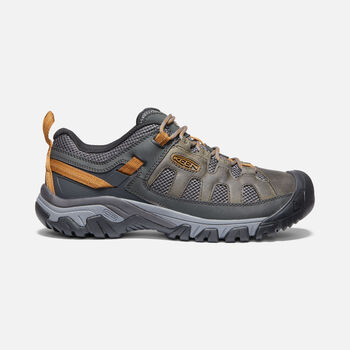MEN'S TARGHEE VENT HIKING SHOES in RAVEN/BRONZE BROWN - large view.
