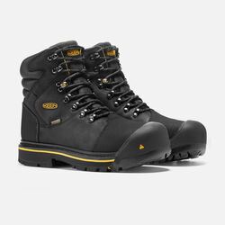 Men's Milwaukee Waterproof (Steel Toe) in Black - small view.