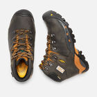 "Men's CSA Hudson 6"" Waterproof Boot (Steel Toe) in Raven/Inca Gold - small view."