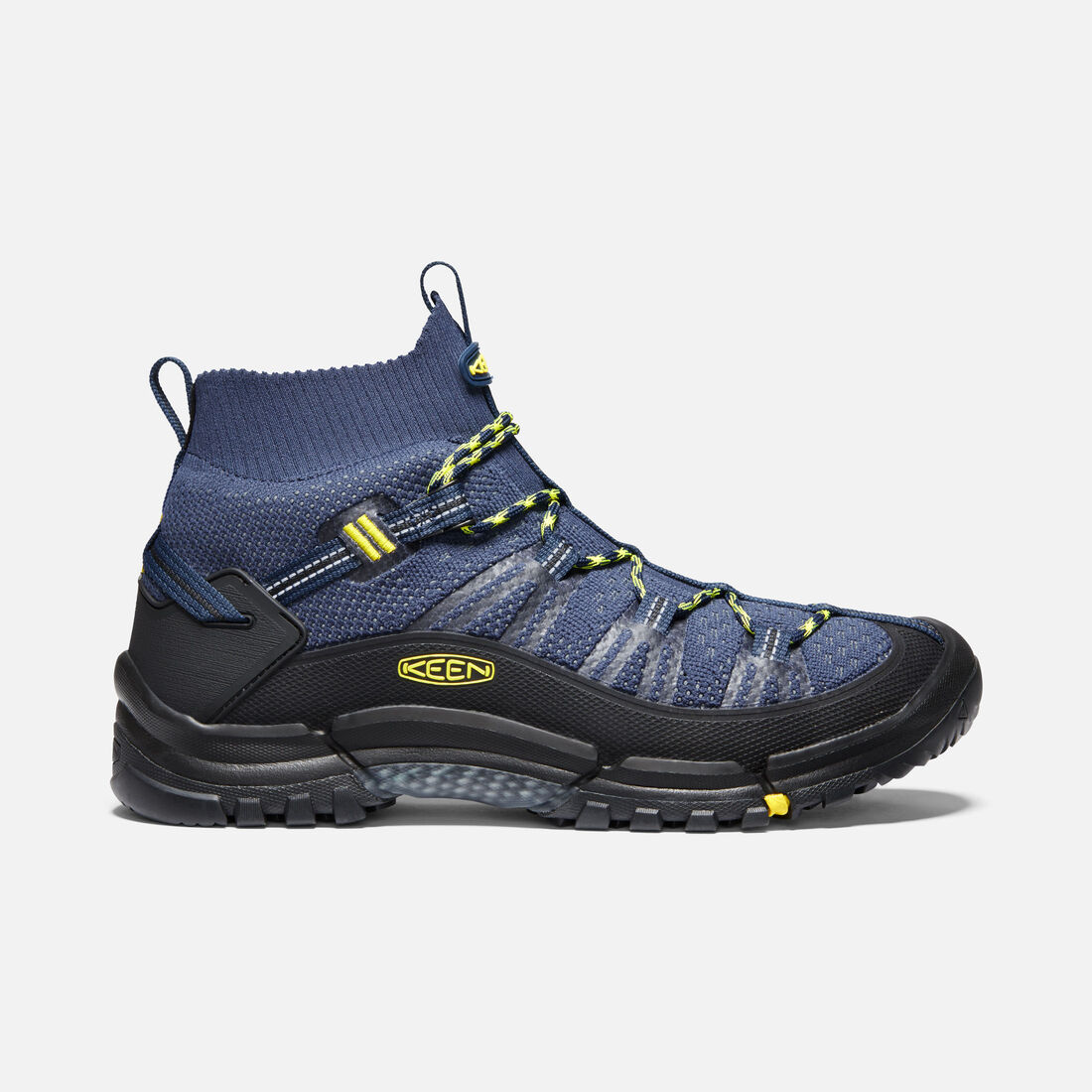 Men's AXIS EVO Mid in DRESS BLUE/BLAZING YELLOW - large view.