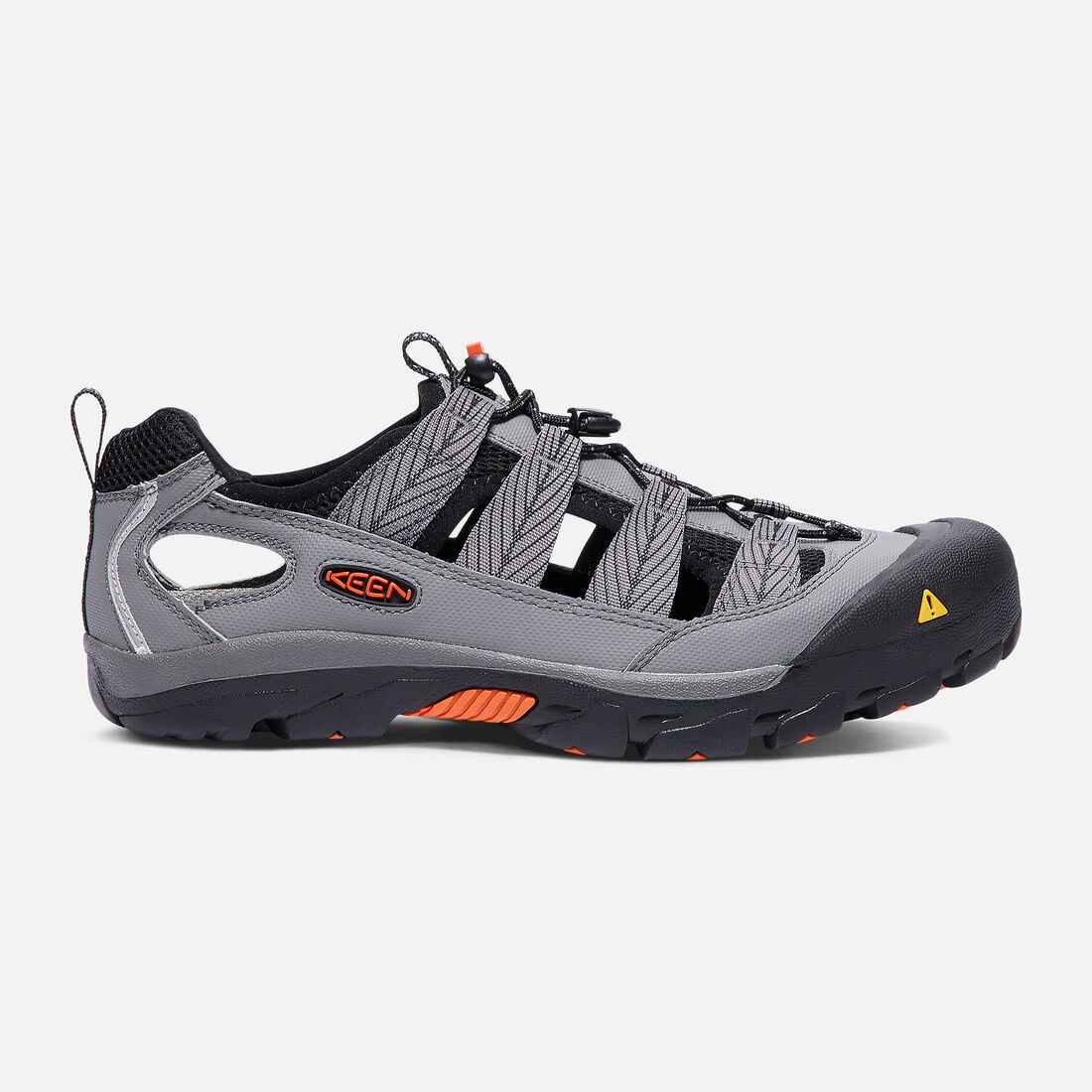 Men's Commuter IV Bike Sandal in Gargoyle/Koi - large view.