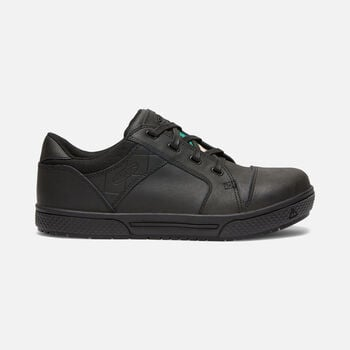 CSA Destin Low (Steel Toe) pour homme in Black - large view.