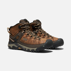 MEN'S TARGHEE III WATERPROOF HIKING BOOTS in BIG BEN/GOLDEN BROWN - small view.