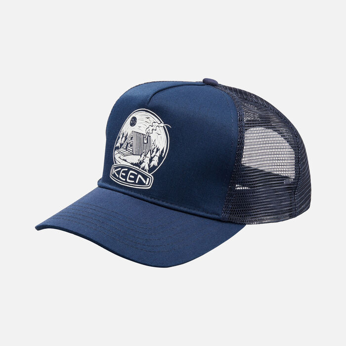 Cabin Mesh Hat in Navy - large view.