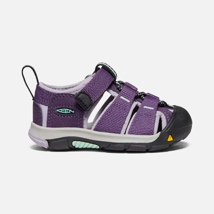 Toddlers' Newport H2 Sandals in Purple Pennant/Lavender Gray - large view.