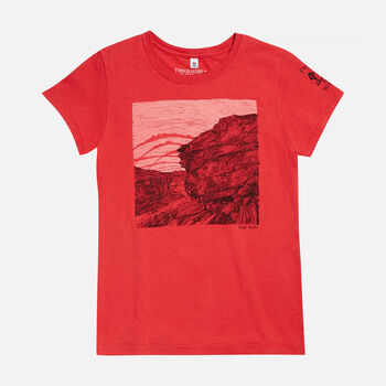 Women's Gold Butte, NV T-Shirt in  - large view.
