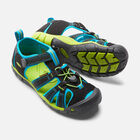 OLDER KIDS' SEACAMP II CNX SANDALS in BLACK/BLUE DANUBE - small view.