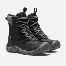 Women's Hoodoo III Lace Up in Black/Magnet - small view.